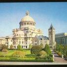 First Church of Christ Scientist Boston Ma. 1962 Postcard