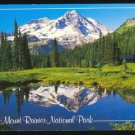 SCENIC VIEW MOUNT RAINIER NATIONAL PARK WASHINGTON WA POSTCARD