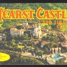HEARST CASTLE SAN SIMEON CA CALIFORNIA SOUVENIR BOOKLET 1950 POSTCARD