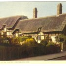 Anne Hathaway Cottage Shottery Stratford Upon Avon United Kingdom Chrome Postcard 229 UK