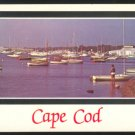 FALMOUTH HARBOR CAPE COD MA. MASSACHUSETTS MASS. POSTCARD