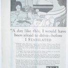 ORIGINAL 1923 WATSON STABILATORS AD