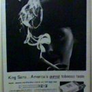 1963 KING SANO CIGARETTES LIFE MAGAZINE  FULL PAGE AD