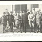WORLD WAR 1 WW1 GROUP PHOTO OF FRENCH AVIATION MEMBERS FROM  1918 GEOGRAPHIC