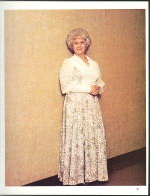 JEAN SHEPARD ORIGINAL 1982 GRAND OLE OPRY PIN UP PHOTO