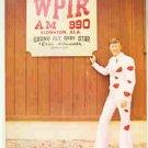 ERNIE ASHWORTH ORIGINAL 1982 GRAND OLE OPRY PIN UP PHOTO