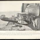 THREE ORIGINAL WORLD WAR 1 MAGAZINE PHOTOS 1918 HYDRO-PLANES