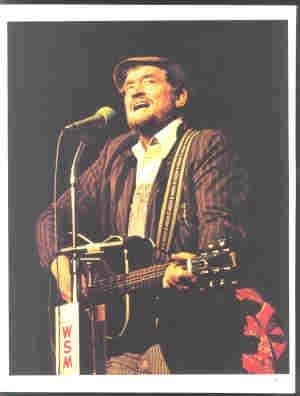BOXCAR WILLIE ORIGINAL 1982 GRAND OLE OPRY PINUP PHOTO