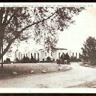 ROUND CHAPEL DEDICATED TO OUR LADY OF MARTYRS AURIESVILLE NY NEW YORK 1950 POST CARD