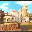 MISSION SAN LUIS REY OCEANSIDE CA CALIFORNIA 1960 POST CARD