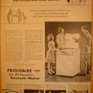 1949 FULL PAGE AD FRIGIDAIRE THE ALL-PORCELAIN AUTOMATIC WASHER