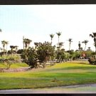 ENTRANCE HILLSBORO COUNTRY CLUB WITH LIGHTHOUSE IN DISTANCE POMPANO BEACH FLORIDA 1960 POSTCARD 669