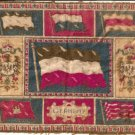 ca 1900 FELT TOBACCO BLANKET WITH GERMANY STATE FLAGS & CREST