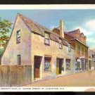 WHITE BORDER POSTCARD THE OLD CURIOSITY SHOP ST AUGUSTINE FLORIDA