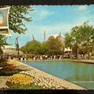 1965 POSTCARD POOL OF REFLECTIONS & COURT OF WORLD PEACE NEW YORK WORLDS FAIR