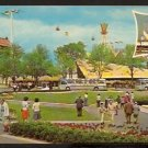 1964 NEW YORK WORLDS FAIR POSTCARD COURT OF THE PRESIDENT OF THE UNITED STATES