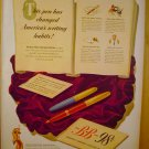 1949 AD BB PEN WORLDS LARGEST SELLING PEN