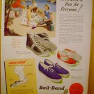 1949 AD BALL BAND CANVAS FOOTWEAR