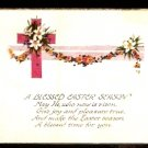 1926 POSTCARD A BLESSED EASTER SEASON DIVIDED BACK