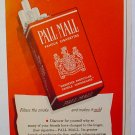 1949 PALL MALL CIGARETTES AD OUTSTANDING & THEY ARE MILD