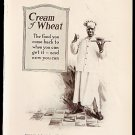 1918 ADS CREAM OF WHEAT WITH RASTUS E.V. BREWER ARTWORK + GOLD MEDAL FLOUR