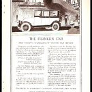 1918 AD FRANKLIN AUTOMOBILE COMPANY SYRACUSE NEW YORK