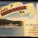 ca 1930s LAKE WINNIPESAUKEE NH SOUVENIR FOLDER