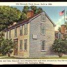 ca 1916/1930 HANCOCK CLARK HOUSE LEXINGTON MA