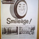1958 FULL PAGE AD B.F. GOODRICH SILVERTOWN TIRES $4 DOWN FOR 4 TIRES