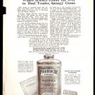 1918 AD PYORRHOCIDE POWDER HEAL TENDER SPONGY GUMS