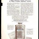 1918 AD PYORRHOCIDE POWDER HEAL TENDER SPONGY GUMS