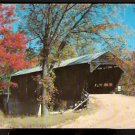 1956 COVERED BRIDGE CONWAY NEW HAMPSHIRE WHITE MOUNTAINS