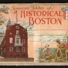 1916/30 HISTORICAL BOSTON MA SOUVENIR FOLDER