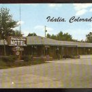 1960 PRAIRIE VISTA MOTEL IDALIA COLORADO 739