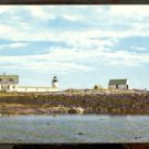 Ca 1969 GOAT ISLAND LIGHT LIGHTHOUSE CAPE PORPOISE KENNEBUNKPORT MAINE 746