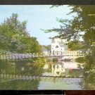 Ca 1960s SWINGING BRIDGE OVER THE SOUHEGAN RIVER MILFORD NEW HAMPSHIRE 750