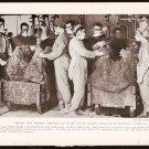 1918 WORLD WAR 1 WW1 GEOGRAPHIC PHOTO BRITISH WAR WORKERS POISON GAS SHELLS LOVELY FLAX FIELD MAIDEN