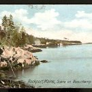 1907  BEAUCHAMP POINT ROCKPORT MAINE UNDIVIDED BACK UDB 765