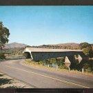 Ca 1960 WINDSOR VERMONT COVERED BRIDGE & MT. ASCUTNEY 774