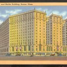 Ca 1930 HOTEL STATLER & STATLER BUILDING BOSTON MA. 775