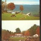 Ca 1960 ESTATE MOTEL & COTTAGES GILFORD NEW HAMPSHIRE LAKE WINNIPESAUKEE 780