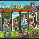 Ca 1960 GREETINGS FROM THE OZARKS 785