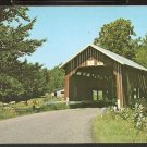 Ca 1960 OLD COVERED BRIDGE NORTHFIELD FALLS VERMONT VT 790