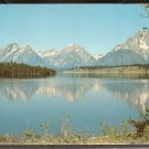 Ca 1960 SPLENDID VIEW JACKSON LAKE WYOMING & TETON MOUNTAINS 794