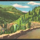 WESTERN SLOPE TRAIL RIDGE ROAD TO GRAND LAKE COLORADO LINEN 797