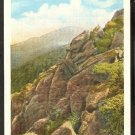 CREST OF MT. MANSFIELD VERMONT LOOKING TOWARD THE NOSE GREEN MOUNTAINS 1915/30 WHITE BORDER 802