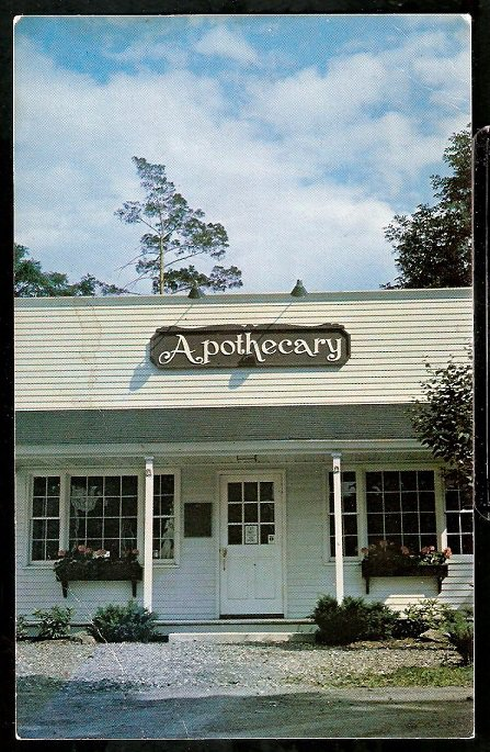 LaVERDIERE APOTHECARY WATERVILLE MAINE 806