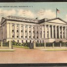 UNITED STATES TREASURY BUILDING WASHINGTON D.C. 1945 LINEN 810