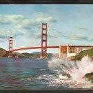 1959 SPLENDID VIEW GOLDEN GATE BRIDGE SAN FRANCISCO CA 811