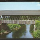 ANDOVER NEW HAMPSHIRE LATTICE CONSTRUCTION COVERED BRIDGE 812